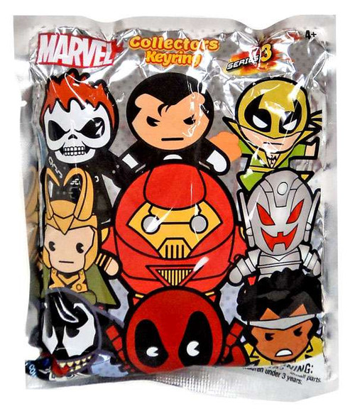 3D Figural Keyring Marvel Series 3 Mystery Pack