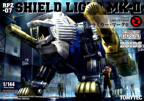 Zoids Modelers Spirit Series Shield Liger MK-II Model Kit MZ005 [RPZ-07]