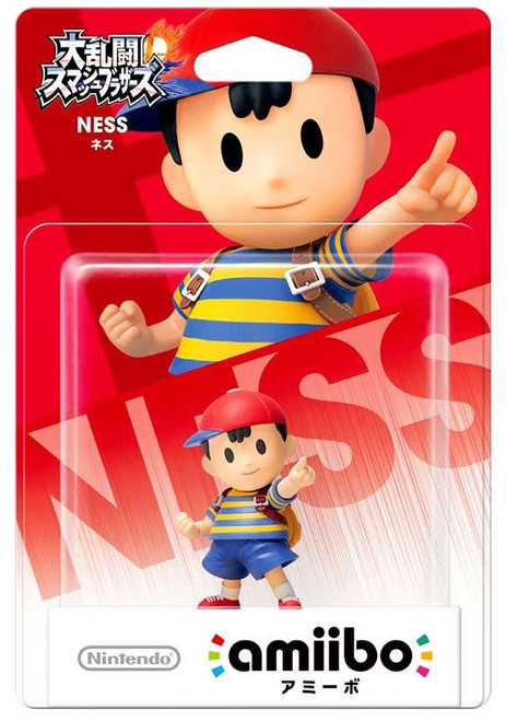Nintendo Japanese Amiibo Ness Mini Figure [Japanese]