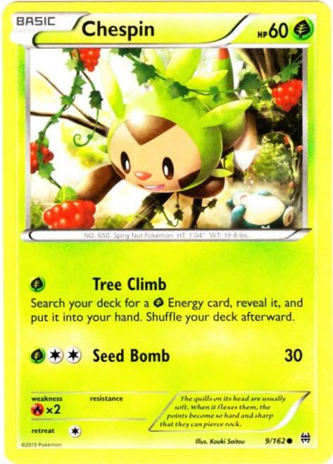 Pokemon X & Y BREAKthrough Common Chespin #9