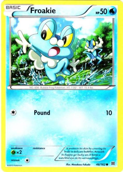 Pokemon X & Y BREAKthrough Common Froakie #46