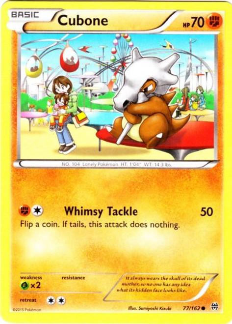 Pokemon X & Y BREAKthrough Common Cubone #77