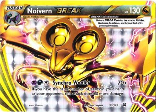 Pokemon X & Y BREAKthrough Rare Holo BREAK Noivern BREAK #113