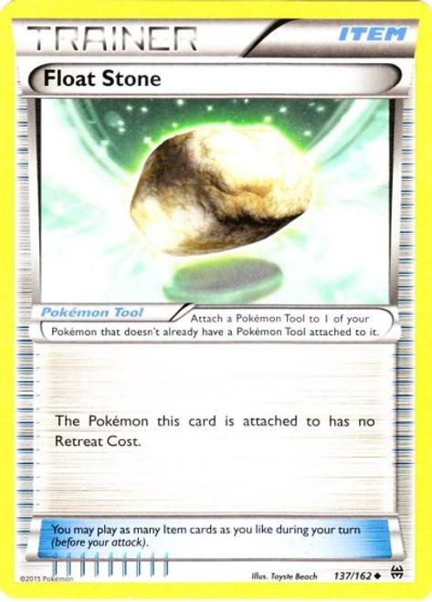 Pokemon X & Y BREAKthrough Uncommon Float Stone #137