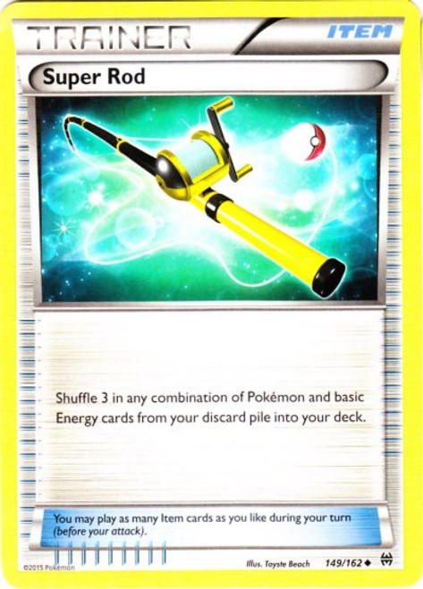 Pokemon X & Y BREAKthrough Uncommon Super Rod #149