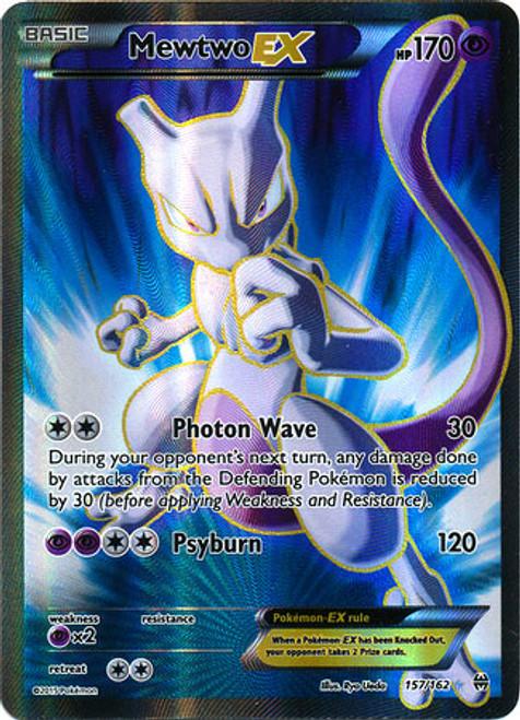 Pokemon X & Y BREAKthrough Ultra Rare Mewtwo EX #157