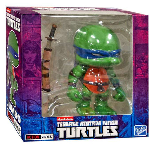 Teenage Mutant Ninja Turtles Mirage Comic Jumbo Leonardo Exclusive 8-Inch Vinyl Figure