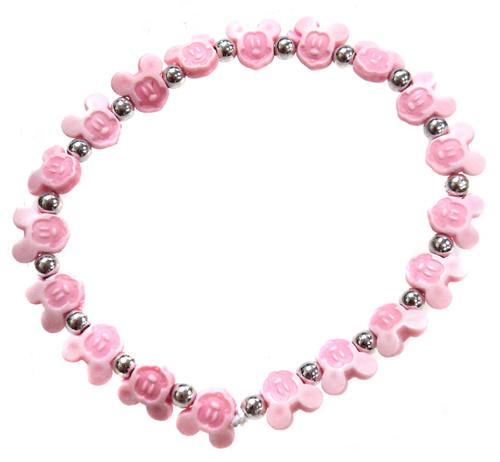 Mickey Mouse Bracelet [Pink]