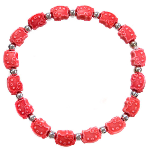Hello Kitty Bracelet [Red]