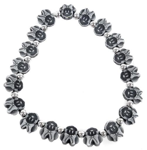 Minnie Mouse Bracelet [Black]