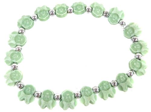 Minnie Mouse Bracelet [Green]