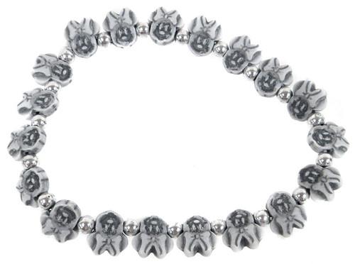 Minnie Mouse Bracelet [Grey]