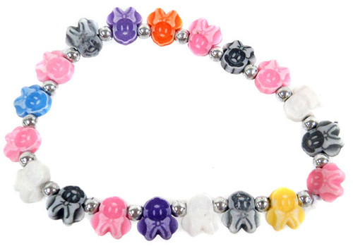Minnie Mouse Bracelet [Multi-Colored]
