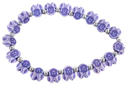 Minnie Mouse Bracelet [Purple]