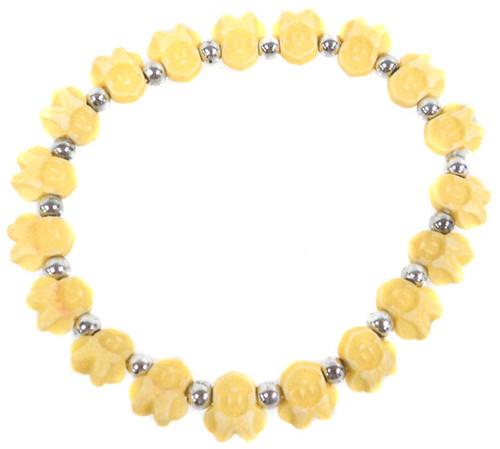 Minnie Mouse Bracelet [Yellow]
