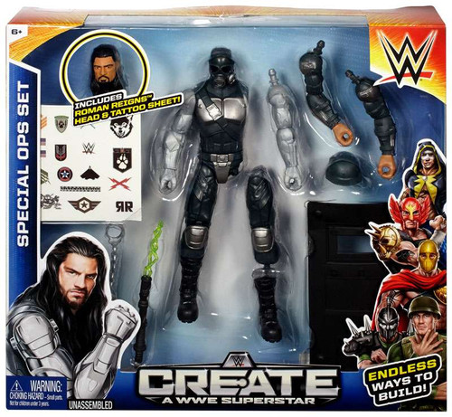 WWE Wrestling Create A WWE Superstar Special Ops Action Figure [Roman Reigns]