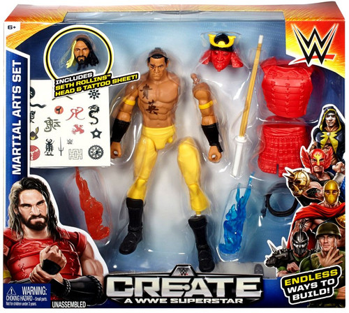 WWE Wrestling Create A WWE Superstar Martial Arts Action Figure [Seth Rollins]