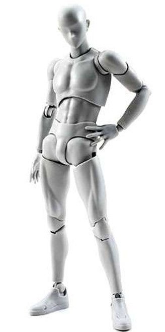 S.H. Figuarts Male Body DX Set Action Figure [Gray]