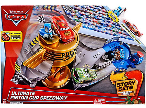 Disney / Pixar Cars Story Sets Ultimate Piston Cup Speedway Exclusive Playset