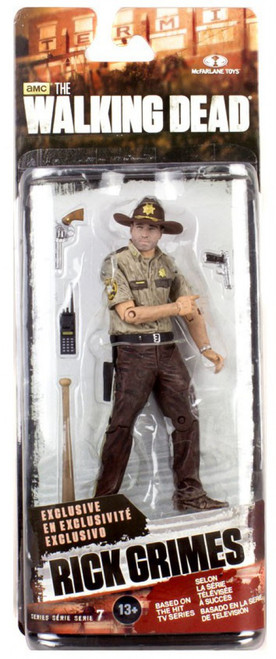 McFarlane Toys The Walking Dead AMC TV Series 7 Rick Grimes Exclusive Action Figure