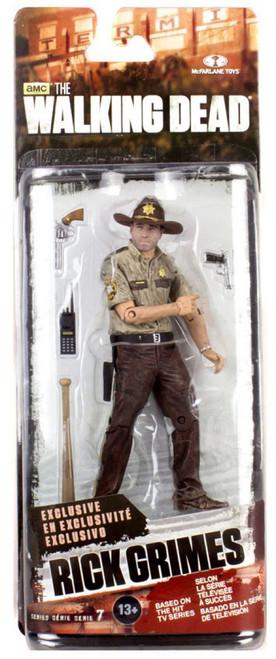 McFarlane Toys The Walking Dead AMC TV Series 7 Rick Grimes Exclusive Action Figure