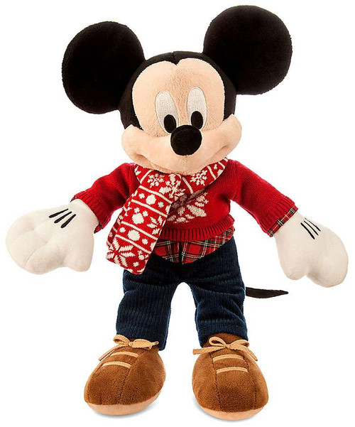 Disney 2015 Holiday Mickey Mouse 16-Inch Plush