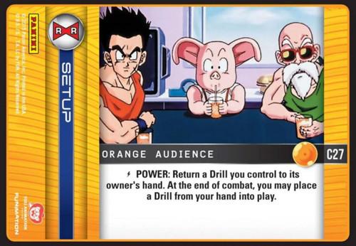 Dragon Ball Z Evolution Common Orange Audience C27