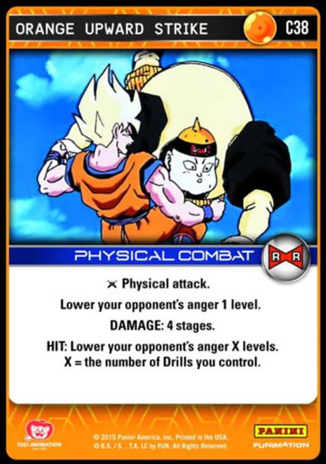 Dragon Ball Z Evolution Common Orange Upward Strike C38