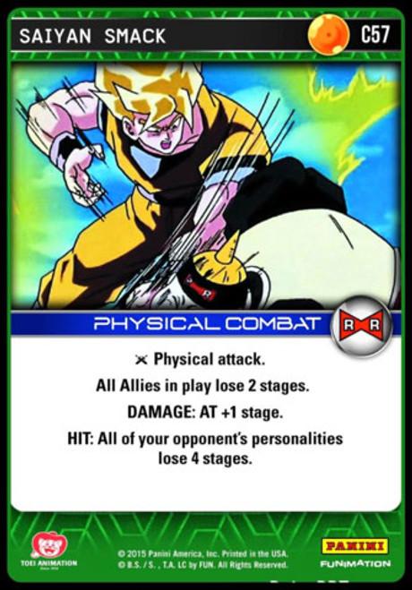 Dragon Ball Z Evolution Common Saiyan Smack C57