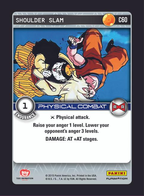 Dragon Ball Z CCG Evolution Common Shoulder Slam C60