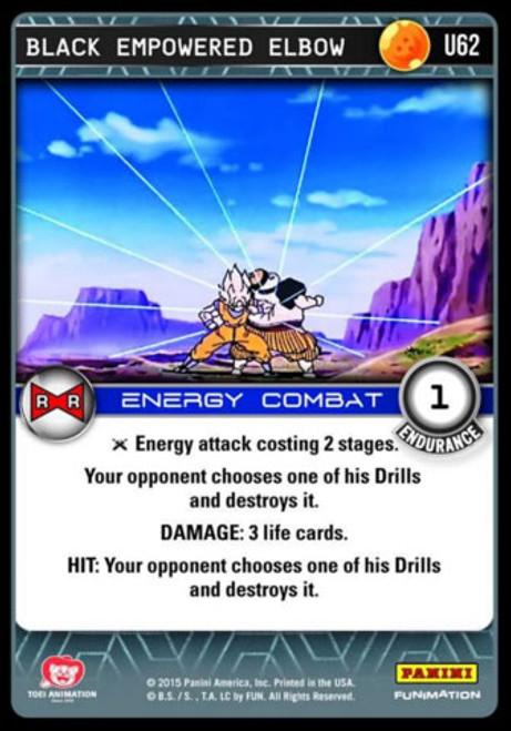 Dragon Ball Z Evolution Uncommon Black Empowered Elbow U62