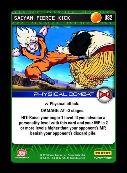 Dragon Ball Z Evolution Uncommon Saiyan Fierce Kick U82