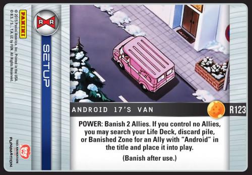 Dragon Ball Z Evolution Rare Android 17's Van R123