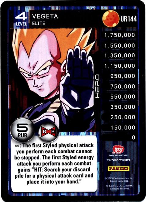 Dragon Ball Z CCG Evolution Ultra Rare Vegeta - Elite UR144 [Ultra Rare]
