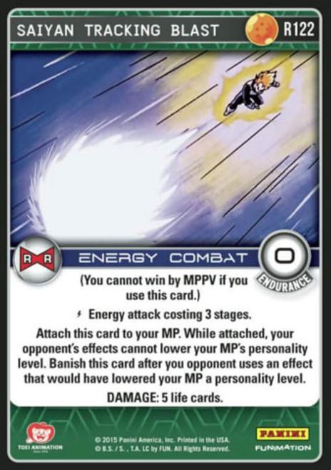 Dragon Ball Z Evolution Rare Foil Saiyan Tracking Blast R122