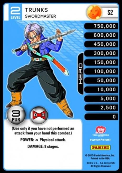 Dragon Ball Z CCG Evolution Fixed Trunks - Swordmaster S2 [Foil Level 2]