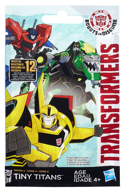 Transformers Robots in Disguise Tiny Titans Series 4 Mystery Pack