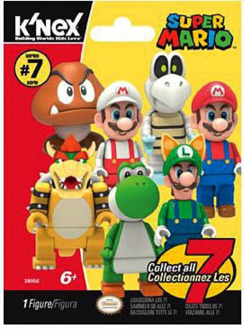 K'NEX Super Mario Series 7 Mystery Pack #38056 [1 RANDOM Figure]