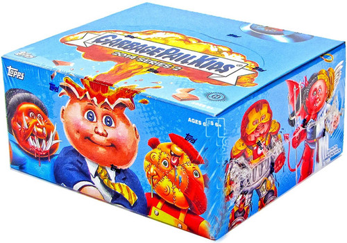Garbage Pail Kids Topps 2014 Series 2 Trading Card Sticker HOBBY Box [24 Packs]