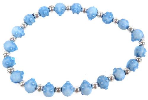 Pigz Blue Pigs Bracelet