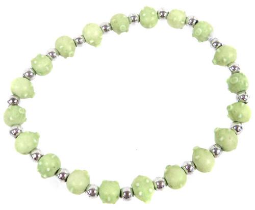 Pigz Green Pigs Bracelet