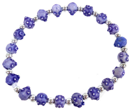 Pigz Purple Pigs Bracelet