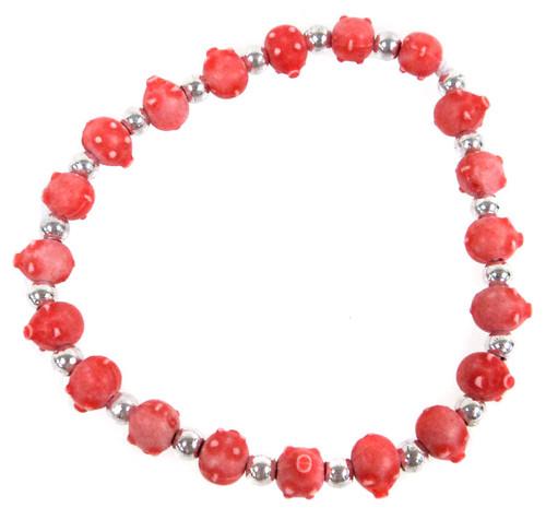 Pigz Red Pigs Bracelet