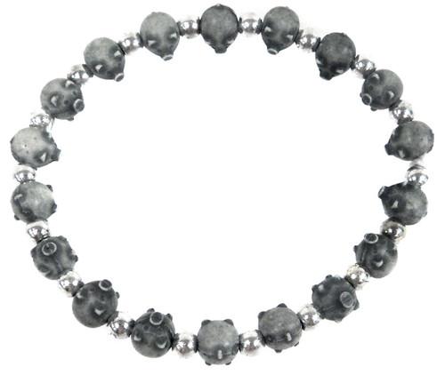 Pigz Grey Pigs Bracelet