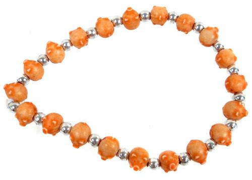Pigz Orange Pigs Bracelet