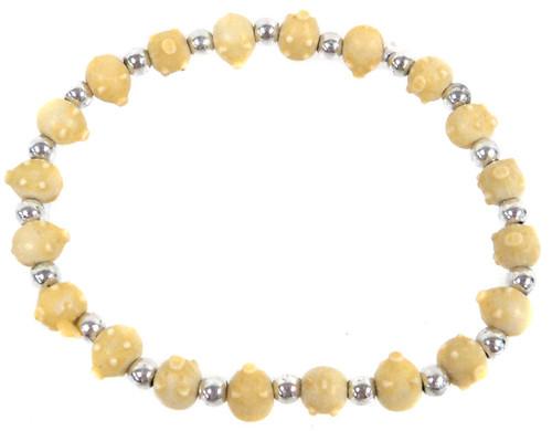 Pigz Yellow Pigs Bracelet