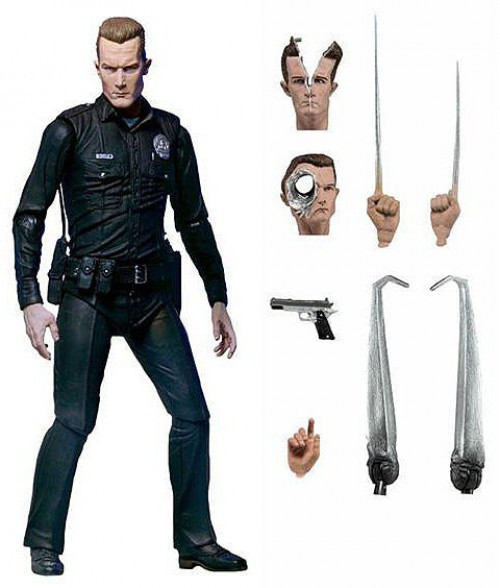 NECA Terminator 2 Judgment Day T-1000 Action Figure [Ultimate Version] (Pre-Order ships April)