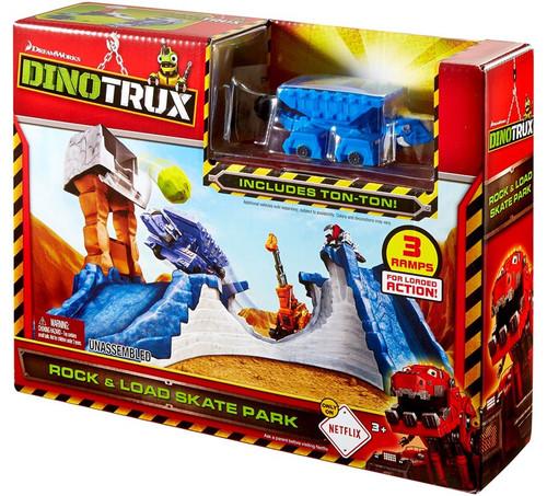 Dinotrux Rock & Load Skate Park Playset
