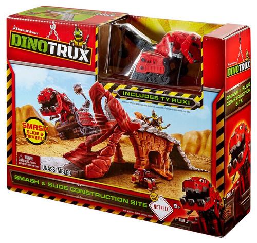 Dinotrux Smash & Slide Construction Site Playset