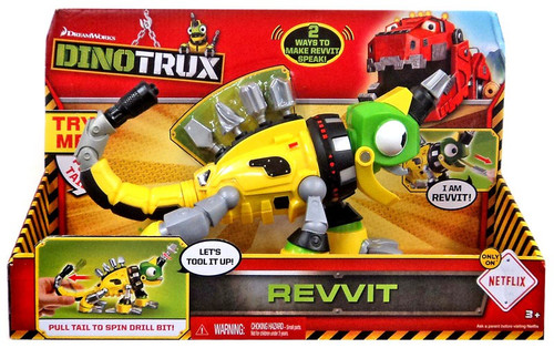 Dinotrux Revvit Deluxe Figure [with Sound, 2015]